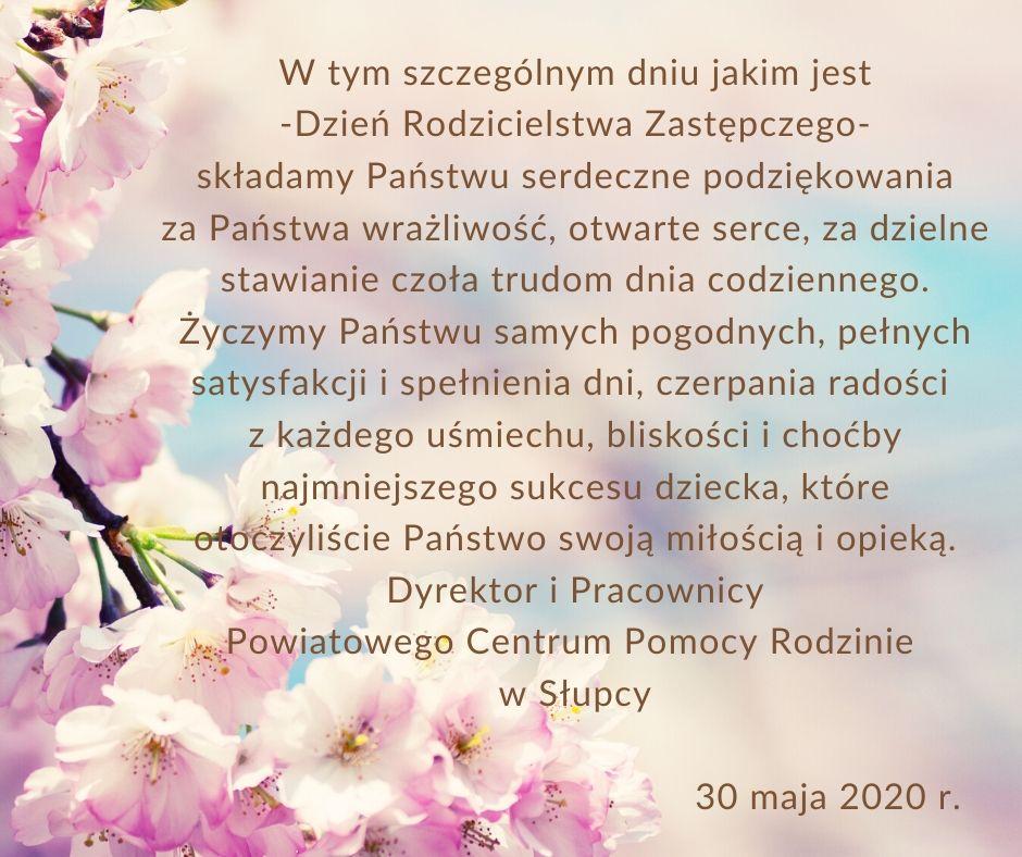 30 maja- Dzień Rodzicielstwa Zastępczego